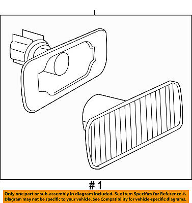 CHRYSLER OEM-Side Marker Lamp 68042143AA