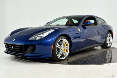 2019 Ferrari GTC4Lusso V12 AWD Certified CPO Carbon Fiber LED 20 Forged Yellow Calipers Rev Counter Shields HELE Stitching