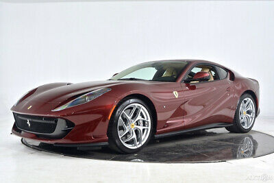 2018 Ferrari 812 Superfast Certified CPO Out of Range Paint Carbon Fiber LED Camera Shields Satellite 20 Forged Aluminum