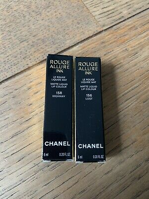 Chanel Duo Rouge Allure Ink 156 158