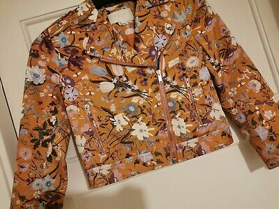 Beautiful floral Gucci girls jacket age 8 with receipt
