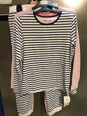 BNWT M&S 2 Pack Responsibly Cotton Pink Size 11-12 years