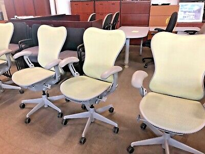 EXECUTIVE CHAIR by HERMAN MILLER MIRRA *FULLY LOADED*