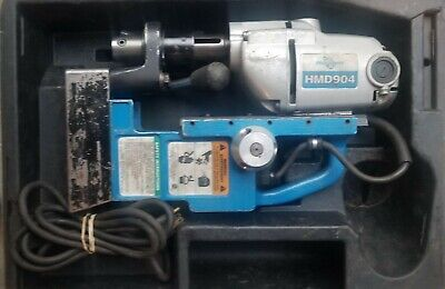 Hougen HMD904 Magnetic Drill Used w/Case