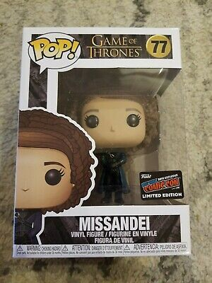 Funko Pop! Game Of Thrones Missandei OFFICIAL STICKER NYCC 2019 Exclusive