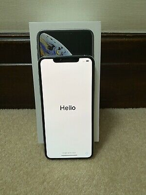 Apple iPhone XS Max 64GB Silver Unlocked Boxed