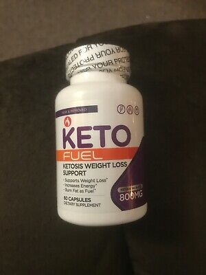 Keto Fuel BHB Diet - 60 Caps - Weight Loss Support - EXP: 03/2021