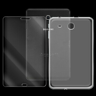 "9H+ Tempered Glass Screen Protector or Case f Samsung Galaxy Tab E 8.0"" SM-T377P"