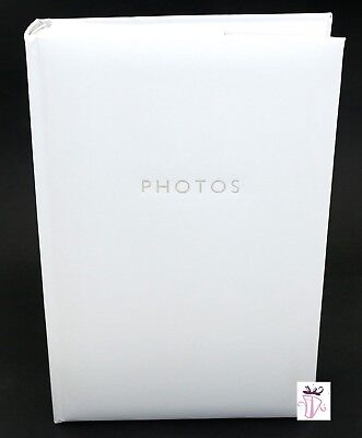 White 300 Photo Slip In Archival Quality Photo Album Wedding Engagement Family