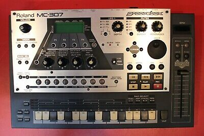 USED Roland MC-307 Groove Box Drum Machine Synth Sequencer U788 191213
