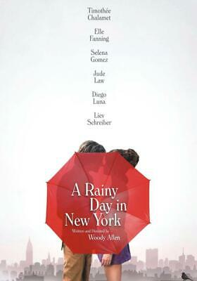A Rainy Day in New York (2019), DVD