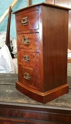 Victorian Mahogany Table Top Chest