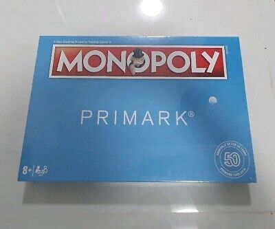 PRIMARK Monopoly Hasbro Exclusive edition 50 years Board game christmas gift
