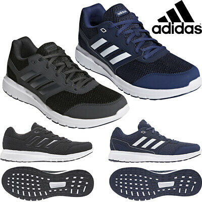 Adidas Trainers Duramo Lite 2.0 Shoes Sport Gym Running Mens Lace Up Grey Navy