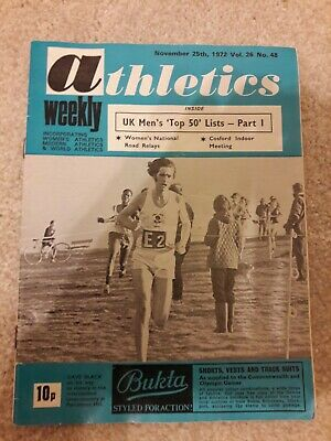 Athletics Weekly 25 November 1972
