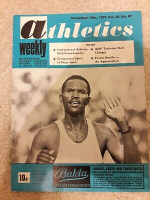 Athletics Weekly 18 November 1973