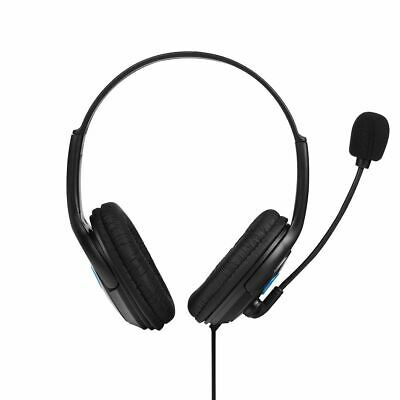 Deluxe Headset Headphone Double Ear With Microphone Volume Control for Xbox One