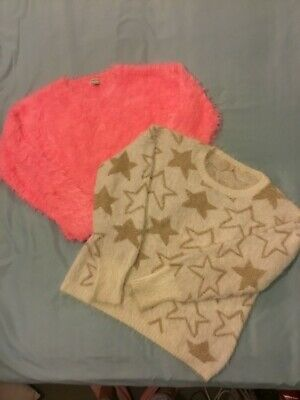 Girls river island/ M& S jumpers age 11-12yrs