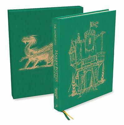 Harry Potter and the Goblet of Fire Deluxe Illustrated Slipcase Edition NEW