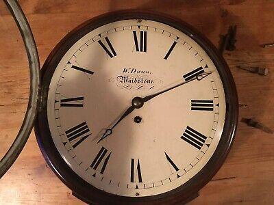 Early 19th Century Fusee Wall Clock