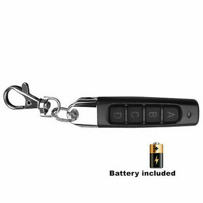 Universal Replacement Garage Door 433MHZ Car Gate Cloning Remote Control Key Fob
