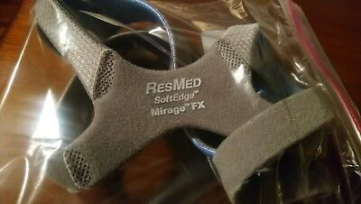 NEW Resmed Mirage FX  Replacement Soft Edge Headgear OEM
