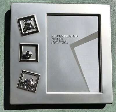 Photo Frame Silver Plated Baby Gift Brand New