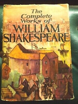 """""""Complete Works Of William Shakespeare"""" Abbey Library In V.g.condition"""