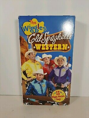 The Wiggles Cold Spaghetti Western VHS Tape