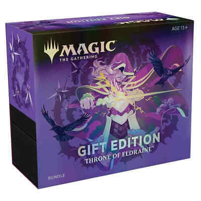 MTG Magic Throne of Eldraine Bundle Holiday Gift Edition Box Collector Booster