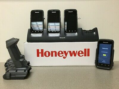 3 Honeywell CT60 Handheld Scanners with Charging Dock and Syncing Dock for CT60