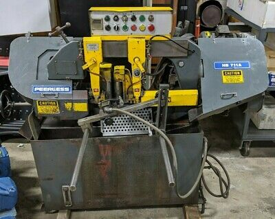 "Peerless HB-711A 10"" Automatic Horizontal Band Saw Free SHIP *"