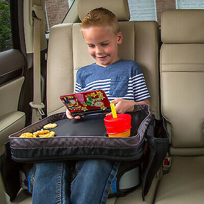 Kids Car Seat Travel Tray Children's Buggy Activity Lap Desk Board Play Table