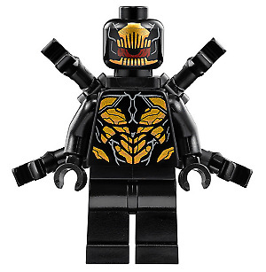 LEGO minifigure - Outrider - (sh505) Super Heroes split from 76131 NEW
