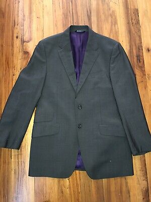 """PAUL SMITH LONDON """"The Westbourne"""" Flat Front Grey SUIT 40 R"""