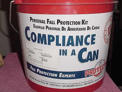 New Protecta Compliance In A Can Aa7041A Safety Harness Kit