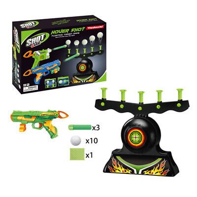 Electric Hover Floating Target Air Shot Game Foam Dart Blaster Shooting Ball NEW
