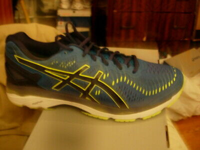 Asics Gel Kayano 23, mens 13 Thunder Blue yellow
