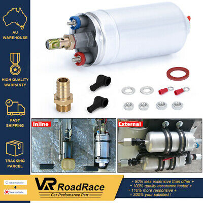 AU STOCK  Universal External Inline Fuel Injection Pump Kit 044 Replacement 60mm
