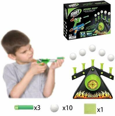 Electric Air Shot Hovering Ball Target Shooting Game Xmas Party Foam Darts Game