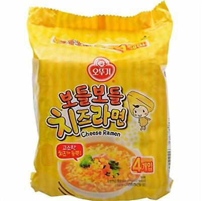 Ottogi Cheese Spicy Ramen Noodle (Pack of 4)
