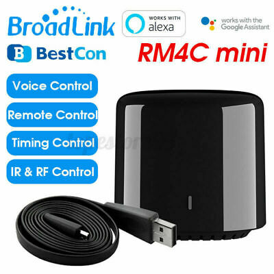 BroadLink RM4C Mini Wireless IR SmartHome WIFI Vocale Controller RF Telecomando
