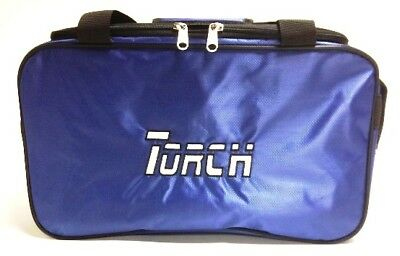 NEW TORCH 2 BALL TOTE RED BOWLING BAG