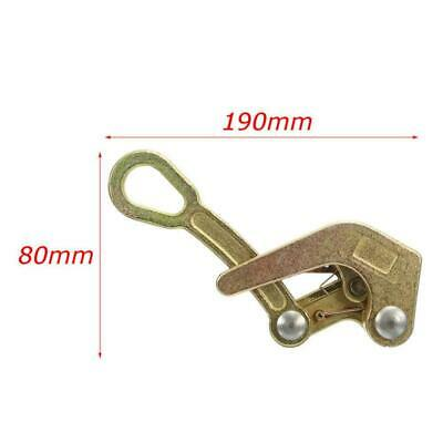 Multifunctional Cable Wire Rope Haven Jaw Pulling Puller Grip 190x80mm P5T2 L1D8