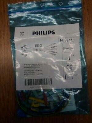 Philips  M1934A Cable Reusable EEG miniclip leadset
