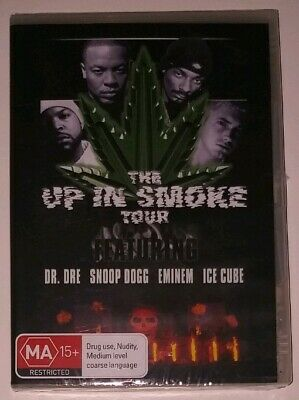 NEW The Up In Smoke Tour Eminem Snoop Dogg Dr Dre Ice Cube DVD4