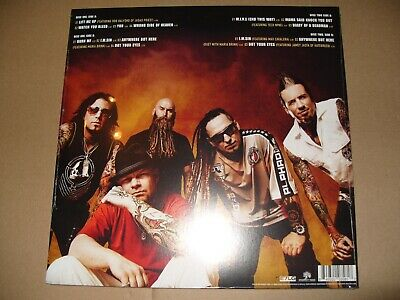Five Finger Death Punch The Wrong Side Of Heaven Vol 1 -2 LP Vinyl New & Sealed