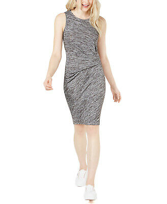 Bar IIIBoho Sunset Ruched Bodycon DressBlack