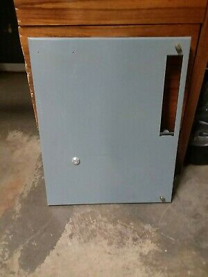 "Allen Bradley 2100 Centerline 18"" Motor Control Center Door MCC w/ Reset"