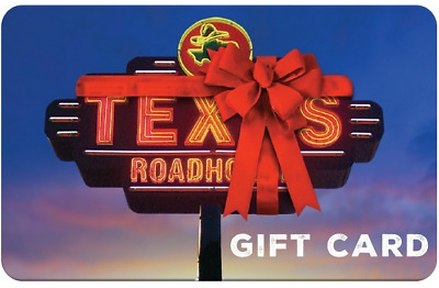 $50 Texas Roadhouse Gift Card - 23% OFF - NEVER EXPIRES (EMAIL DELIVERY ONLY)